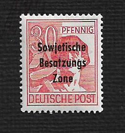 German MNH Scott #10N11 Catalog Value $1.65