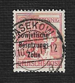 Germany Used Scott #10N11 Catalog Value $.30