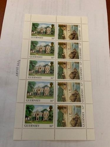 Guernsey Tourism m/s 1988 mnh stamps #a