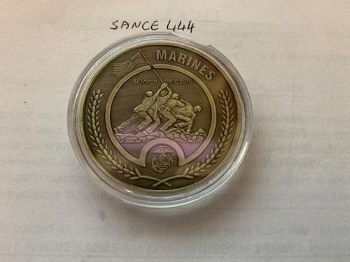 United States uncirc. coin Marines