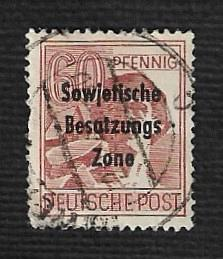 Germany Used Scott #10N14 Catalog Value $.65
