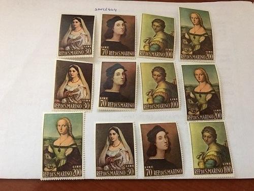 San Marino Sanzio 3 sets mnh 1963 stamps