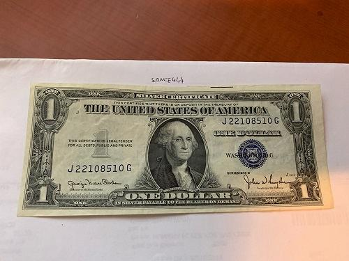 United States Washington circulated banknote 1935 D #16
