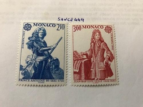 Monaco Europa 1985 mnh stamps