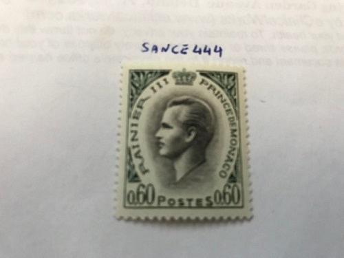 Monaco Prince Rainier III new currency 60c mnh 1964 stamps