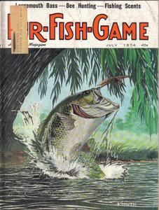 Lot of 4: FUR-FISH-GAME Magazines :: July, Oct-Dec 1974 :: FREE Shipping