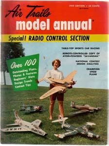 Lot of 3: AIR TRAILS Model Magazines: 1959, 1978 :: FREE Shipping