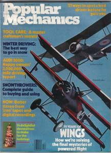 Lot of 4: Popular Mechanics Magazines :: FREE Shipping
