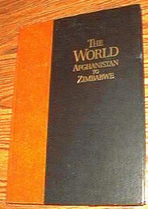 The World Afghanistan to Zimbabwe Rand McNally 1996 HB :: FREE Shipping