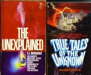 Lot of 7 Books about the Unexplained :: FREE Shipping