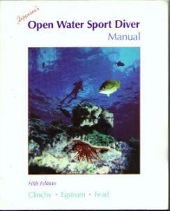 Jeppesen's OPEN WATER SPORT DIVER MANUAL :: FREE Shipping