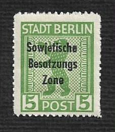Germany Hinged Scott #10N22a Catalog Value $.25