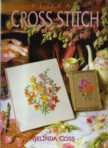 FLORAL CROSS STITCH HB w/ DJ :: FREE Shipping