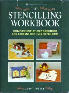 The Stenciling Workbook HB w/ DJ :: FREE Shipping
