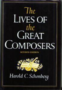 The LIVES OF the GREAT COMPOSERS :: 1981 HB w/ DJ :: FREE Shipping