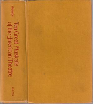 Ten Great Musicals of the American Theatre :: 1973 HB :: FREE Shipping