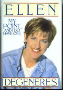 MY POINT ... AND I DO HAVE ONE Ellen DeGeneres HB w/ DJ :: FREE Shipping