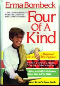 Erma Bombeck :: Four Of A Kind :: Treasury HB w/ DJ :: FREE Shipping