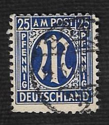 German Used Scott #3N13a Catalog Value $1.50
