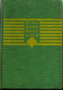 GIRL SCOUT HAND BOOK :: 1944 HB :: FREE Shipping