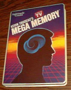 MEGA MEMORY :: Kevin Trudeau :: 9 Cassettes, 2 Books :: FREE Shipping