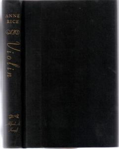 Violin :: 1997 HB by Anne Rice :: FREE Shipping