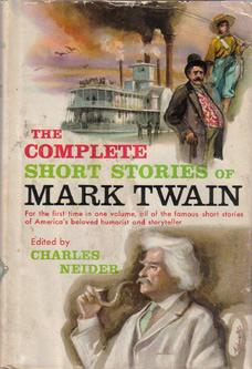 The COMPLETE SHORT STORIES of MARK TWAIN 1957 HB w/ DJ :: FREE Shipping