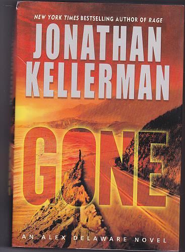 Gone By Jonathon Kellerman 2006 (Large Print) Hardcover Book - Good
