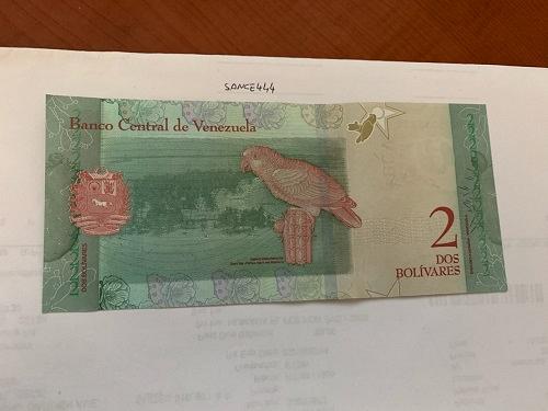 Venezuela 2 bolivares uncirc. banknote 2018