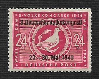 German MNH Scott #10N47 Catalog Value $1.60