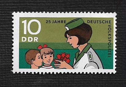German DDR MNH Scott #1211 Catalog Value $.25