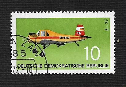 Germany DDR Used Scott #1367 Catalog Value $.25