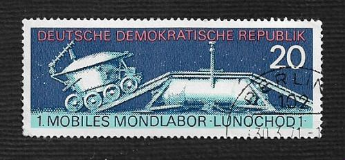 Germany DDR Used Scott #1285 Catalog Value $.30