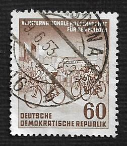 Germany DDR Used Scott #150 Catalog Value $1.00