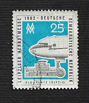 Germany DDR Used Scott #628 Catalog Value $.50