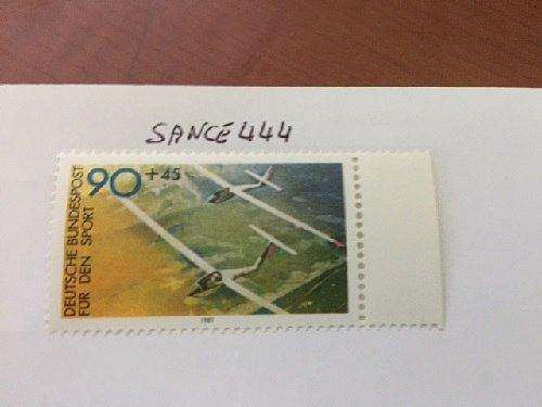 Germany Sports 90+45p mnh 1981 stamps