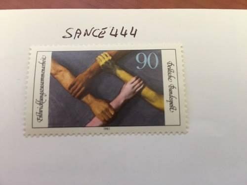 Germany Development co-operation mnh 1981 stamps