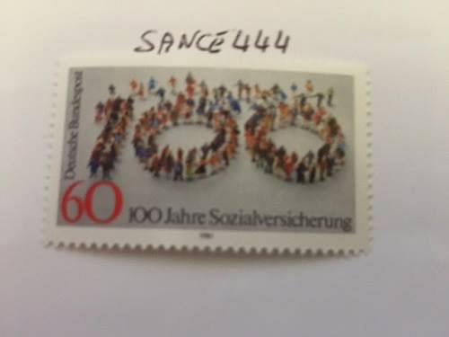 Germany Social insurances mnh 1981 stamps