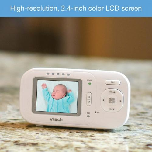 """Vtech 2.4"""" Full-Color Digital Video Baby Monitor & Automatic Night Vision"""