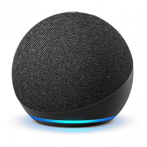 Amazon Echo Dot (4th Generation) Smart Speaker with Alexa - Charcoal