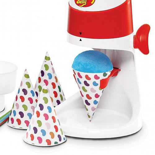 Jelly Belly Electric Ice Shaver with Bonus Cone Cups & Straws,