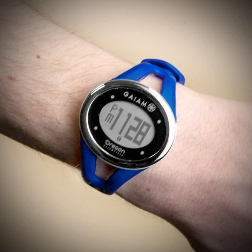 Oregon Scientific SE338/BXTDB Gaiam ECG Touch Watch, Navy Blue