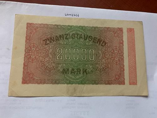 Germany 20.000 marks circulated banknote 1923 #4