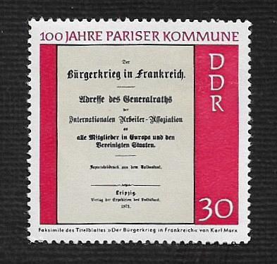 German DDR MNH Scott #1284 Catalog Value $.25