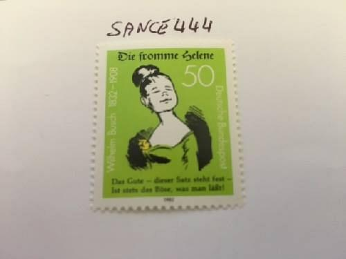 Germany Wilhelm Busch mnh 1982 stamps