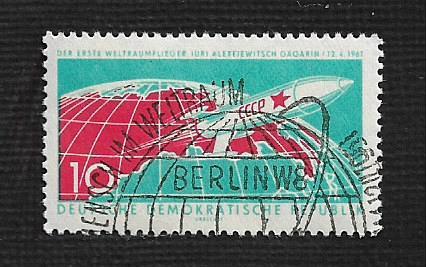 German DDR Used Scott #549 Catalog Value $.65