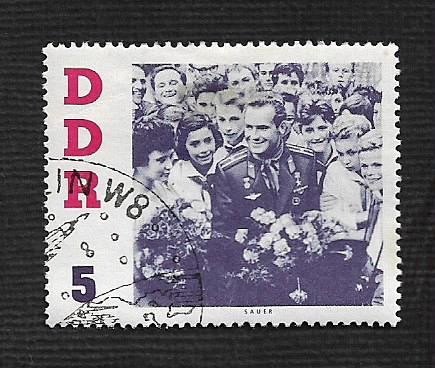 German DDR Used Scott #576 Catalog Value $.25