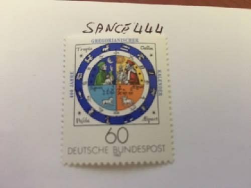 Germany Gregorian calendar 1982 mnh stamps