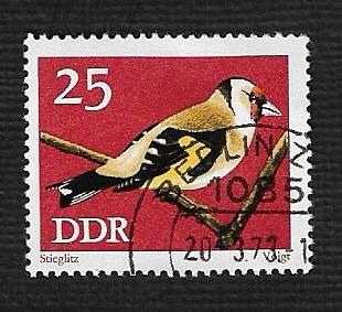 Germany DDR Used Scott #1457 Catalog Value $.25