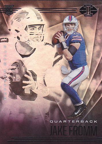 Jake Fromm #10 - Bills 2020 Panini illusions Rookie Football Trading Card